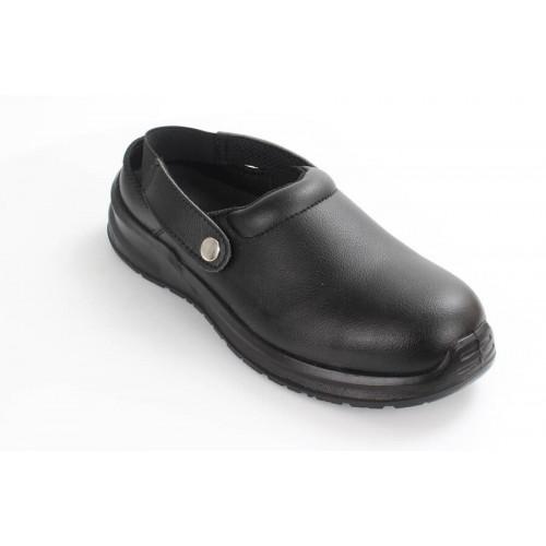 Blackrock® Hygiene Clog S2 SRC - Black -Steel Toe - Anti Slip