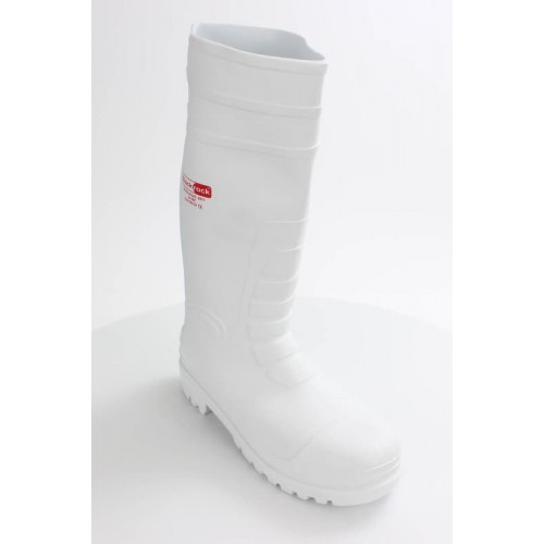 Blackrock® Hygiene Wellington S4 SRC - White - Steel Toe